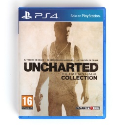 JUEGO P/ PS4 UNCHARTED THE NATHAN DRAKE COLLECTION