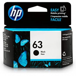 CARTUCHO HP 63 BLACK ORIGINAL