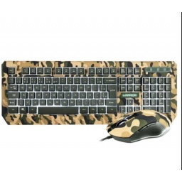 COMBO TECLADO + MOUSE GAMER ARMY KYLER WAR TC249