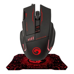 MARVO GAMING MOUSE + MOUSEPAD G909+G1