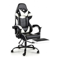 SILLON DONNA GAMING AF-C5203 NEGRO/BLANCO