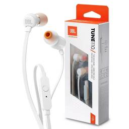 AURICULAR JBL T110 WIRED IN-EAR WHITE